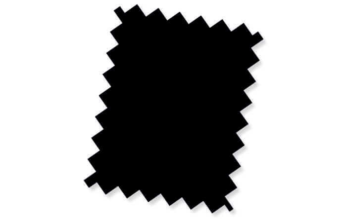 boxspring stof board onxy zwart