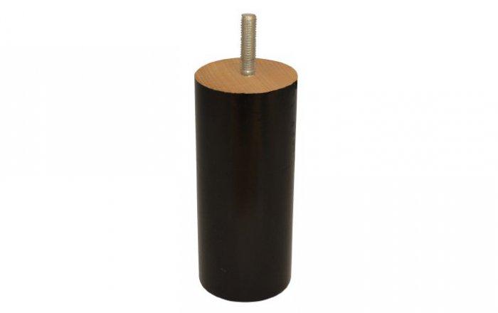 ronde boxspring poot van hout