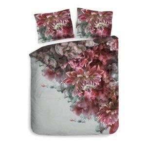 dekbedovertrek met rook en rode bloemen van het merk heckett & lane